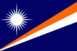 Marshall Islands Large Country Flag - 3' x 2'.